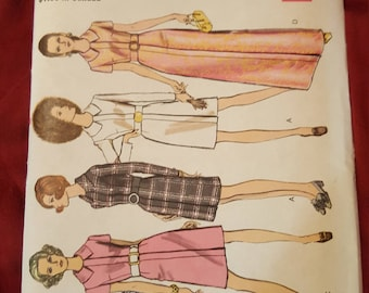 Vintage Vogue dress pattern #7673