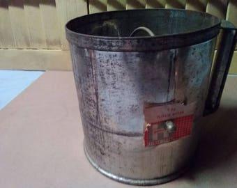 Vintage Hodges Flour Sifter