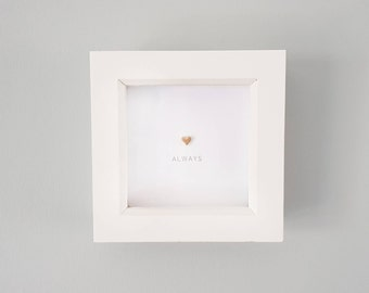 Always special heart frame