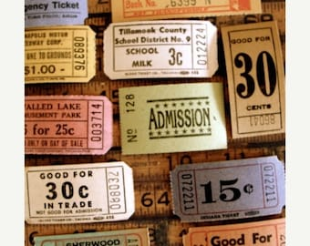 ONSALE Antique Ticket Lover Dream Collection N02