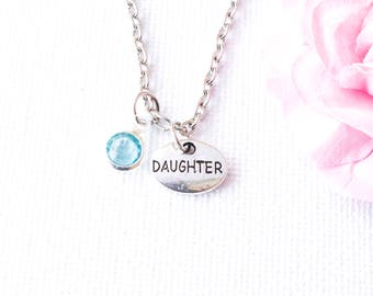 daughter necklace, daughter jewelry, daughter jewellery, gift for daughter, mother and daughter, daughter jewellery, daughter gift