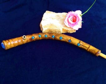 Pipe with Opal stone