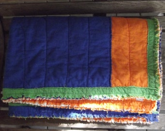 Bold Colorful Boy Quilt