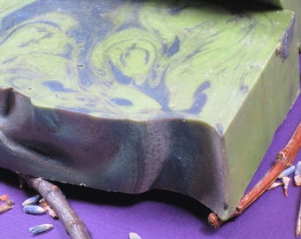 Hedgewitch Soap, Handcrafted, Handmade, Cold Process, Paraben Free, Phthalate Free, Body Care, Skin Care, Witchy Herbs, Amber, Herbal, Gift
