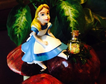 Alice Gets Small fairytale character
