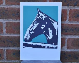 A4 Horse Print - Bernie