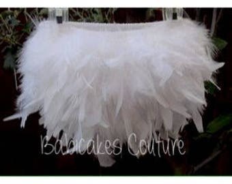 Feather Diaper Cover, Feather Bloomer, Feather Tutu, Feather Skirt, YOU PICK COLOR, Newborn Take Home Outfit, Newborn Photo Outfit, Easter