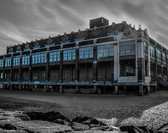 Asbury Park, Convention Hall, Jersey Shore, 8x10 Inch Print