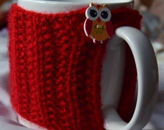 A red mug hug