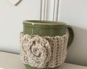 Custom Handmade Crochet Coffee or Tea cup Cozy