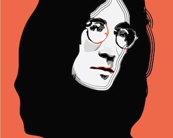 John Lennon - Art Print - Music Print - Pop Art
