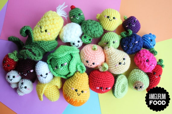 Amigurumi Vegetable Patterns : Amigurumi vegetables free pattern best amigurumi fruit vegetables