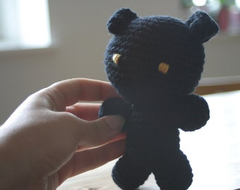 Heartless Plush Amigurumi