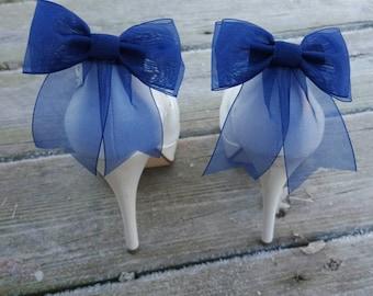Shoe Clips, Wedding Shoe Clips, Bridal Shoe Clips, Clips for Wedding Shoes, Bridal Shoes, Summer Shoes, Organza Bow Shoe Clips
