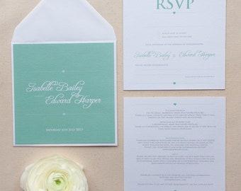 SAMPLE OF // EMILY // Wedding Stationery