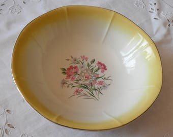Vintage 50s salad / earthenware of Digoin Sarreguemines / French