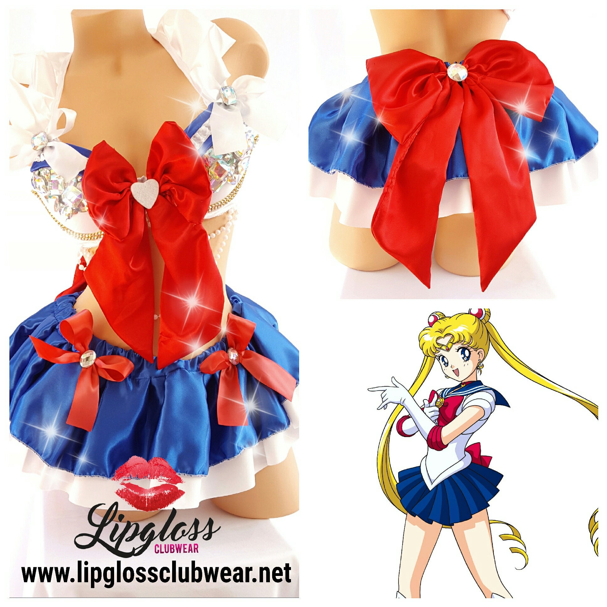 moon costume Sailor girl