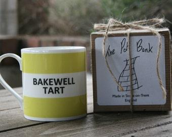 Bakewell Tart Hoop Mug