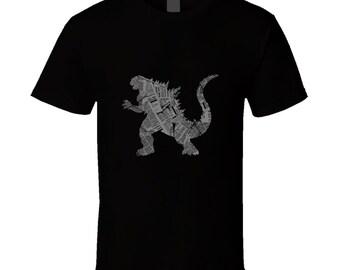 Kaiju Is Coming T Shirt