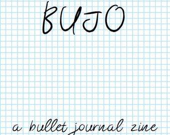 BUJO - A Bullet Journal Zine: Postage Saver PDF