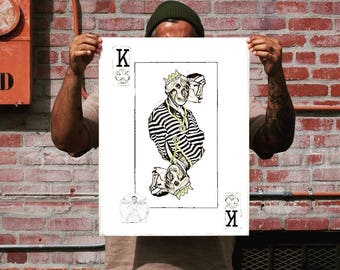 Picasso playing card
