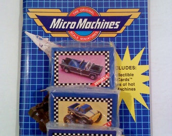 Trading Cards- Micro Machines MICRO CARDS Kit, Series 1
