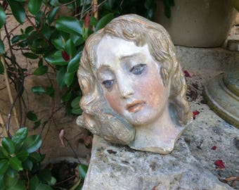 Pretty female head ornament