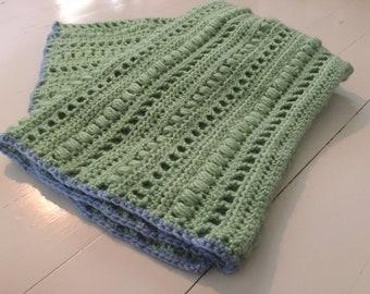 Crochet *PATTERN* Silent Whispers Baby Blanket