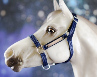 Traditional Breyer Horse Halter W/ Name Plate