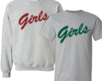 FRIENDS TV Show Girls Sweater / TShirt. Rachel Green Monica Geller sweatshirt t-shirt TV series feminist shirt girl power fan gifts feminism