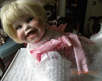 Porcelain Collectible Doll Brittany - Ltd. Edition Numbered with COA - MIB