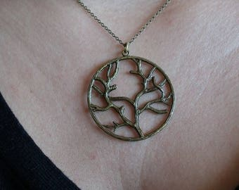 """""""Beautiful branches"""" Choker necklace"""