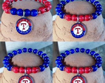 Texas Rangers! Team spirit #yoga bracelet - #RangersNation