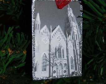Ornament - Holy Family Church, Chicago, Illinois
