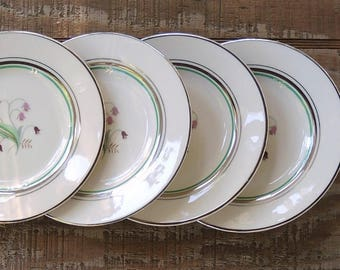 Mid Century Syracuse Coralbel Bread and Butter Plates Set of 4 Modern Dessert Plates Replacement China