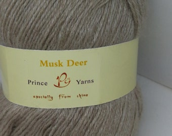 Musk Deer- Garn aus Unterwolle von Moschushirschen
