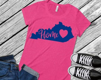 Kentucky Home; SVG; PNG; DXF; Cut File; Vector; Htv; Cricut Cut File; Silhouette Cut File; Kentucky Svg; Kentucky Cut file; Kentucky Shirt;