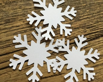 Paper Snowflake cut outs snowflakes for crafts scrapbooking