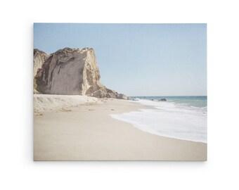 Point Dume Wall Art - California Photographs - Beach Photography - Coastal Wall Decor - Large Canvas Wall Art - Beach Cottage Prints