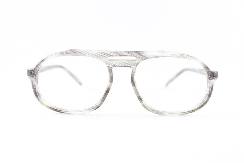 años 70 vintage lentes Safilo claro gris aviador gafas