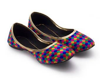 Handmade Multi-Color Women's Ballerina Shoes