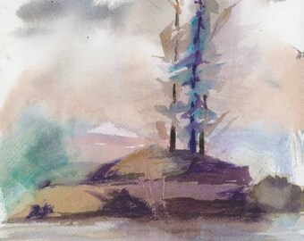 Superior Inspiration - Original Watercolor