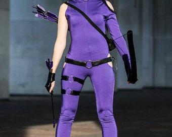 "MADE TO ORDER - Marvel comics Hawkeye Katherine ""Kate"" Bishop handmade cosplay costume"