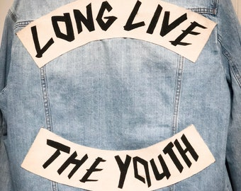 Long Live The Youth Denim Jacket -BBV