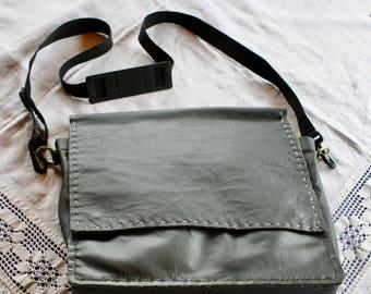 Leather shoulder / computer bag