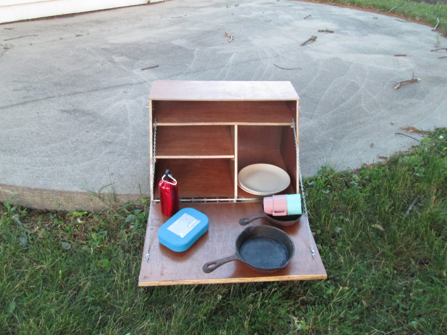 Camping Cupboard Camp Kitchen Tailgating
