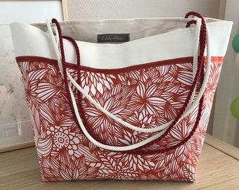 "Tote bag ""Red spring"""