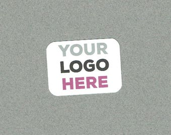 Stickers, Self Adhesive Labels, Logo Sticker, Set of 40, Printed Stickers, Business Sticker, Small Sticker