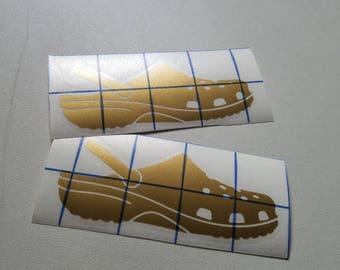 Crocs Vinyl Decals (Sold in pairs)