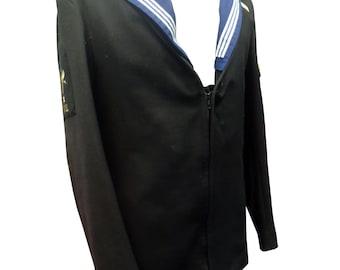 Royal Navy Man's Jumper - Jacket - Class II - Vitage - Genuine Issue